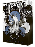 Bicycle Anicca Deck (Metallic Blue)