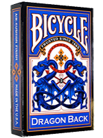 Bicycle - Dragon back blue- 1885
