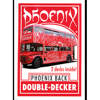 Phoenix double decker Two Way ( 52+26+26 Rouge ) Card Shark