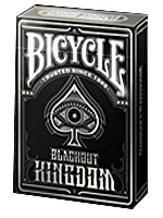 Bicycle Blackout Kingdom Deck ( Gambler's Warehouse )