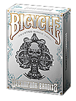 Bicycle Steampunk Deck (White)