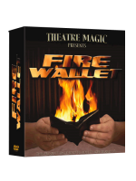 Fire Wallet 2.0 . Portefeuille en feu luxe ( Theatre magic )