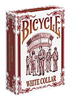 Bicycle White Collar