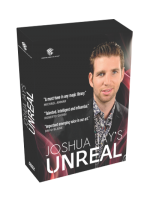 DVD Unreal by Joshua Jay and Luis De Matos ( 4 Dvd Set )!!!