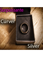 Bague Aimantée 11 - Kinetic PK Ring (Silver Curved 20,68 mm )