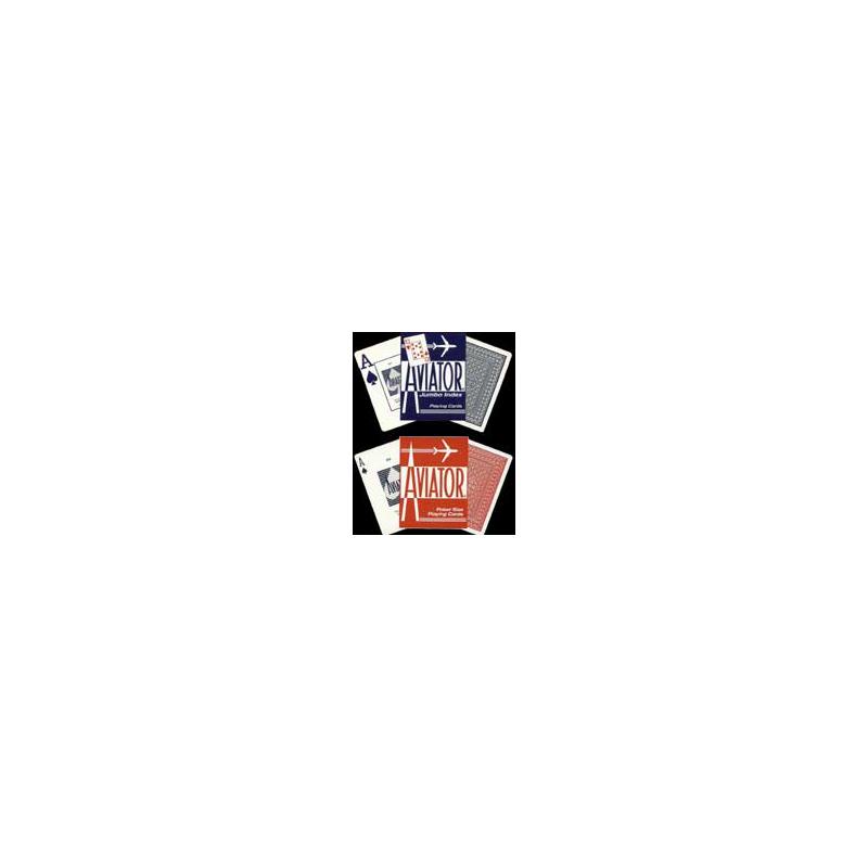 Aviator poker bleu