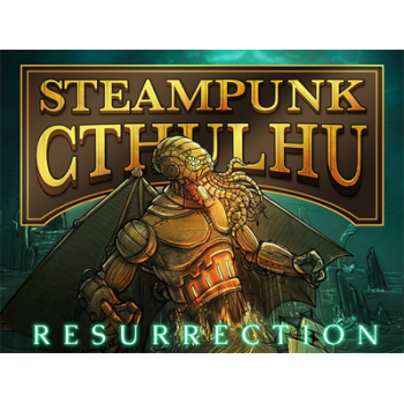 Bicycle Steampunk Cthulhu Resurrection (Green) Nat Iwata