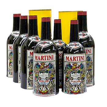 Multiplication de bouteille MARTINI - Multiplying bottle