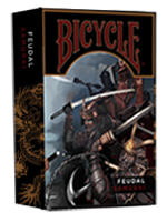 Bicycle Feudal Samurai Deck ( Crooked Kings )