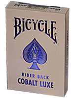 Bicycle Rider Back Cobalt Luxe (Blue)