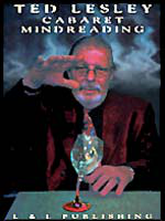 DVD Ted Lesley Cabaret Mindreading Vol1