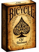 Bicycle Old Parchment