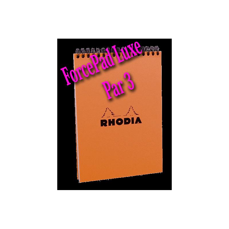 ForcePad Luxe - ( Rhodia ) ( Par 3 )