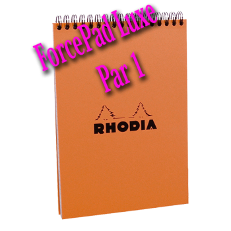 ForcePad Luxe - Rhodia - A l'unité