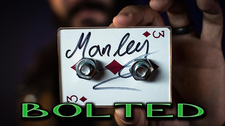 encore un gros plan sur la carte signée du tour Bolted de Jared Manley