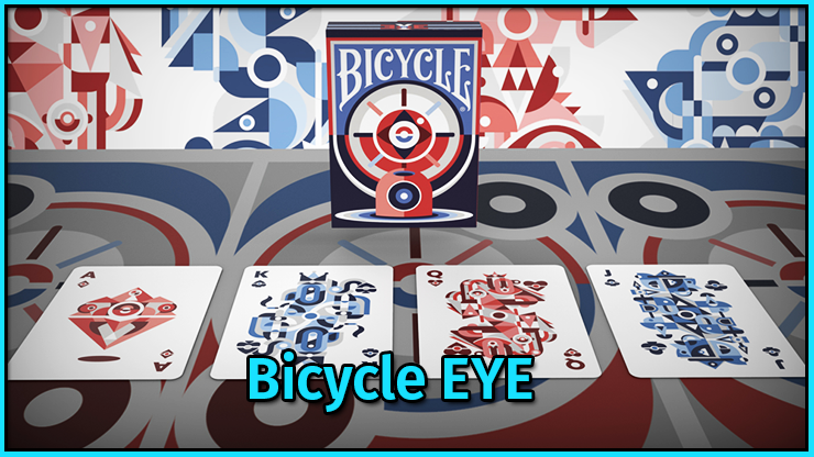 l'as de carreau le roi de pique la dame de cœur et la valet de trèfle a cote due je u jeu de carte Bicycle EYE.