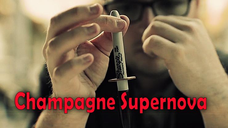 le charpie a traversé la pièce de Champagne Supernova (EURO) Matthew Wright