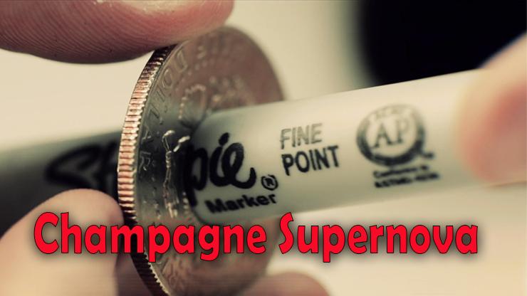 le stylo ressort de la pièce de Champagne Supernova (EURO) Matthew Wright