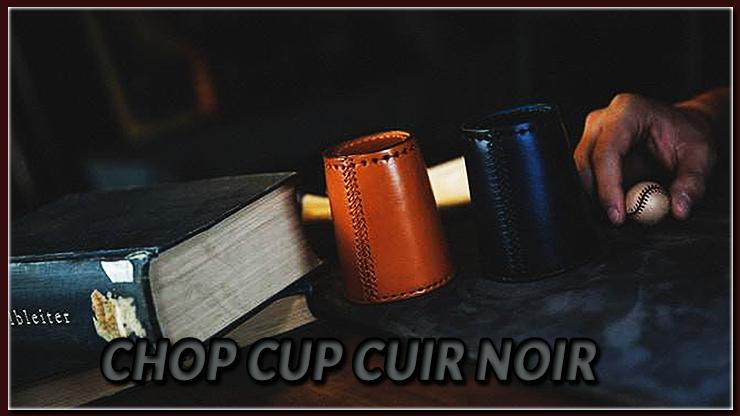 disponible en noir ou en marron du tour Chop Cup Cuir Marron de TCC