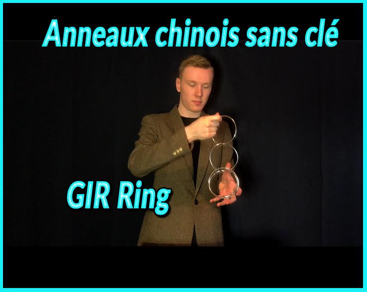 d'désenclaver l'anneau sans clé du tour GIR Ring Set De Matthew Garrett