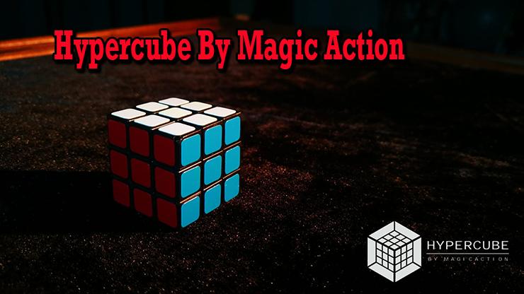 voici un mini cube du tour Hypercube de Magic Action