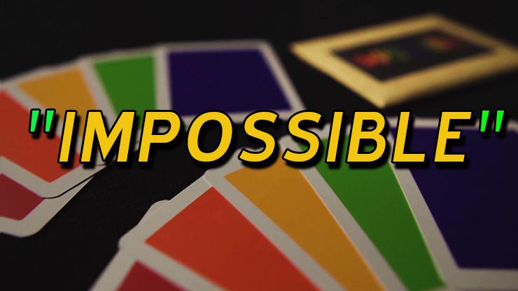 dos des cartes du tour Impossible de Hank & Himitsu Magic.