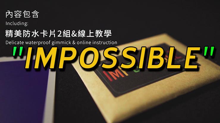 pochette original du tour Impossible de Hank & Himitsu Magic.