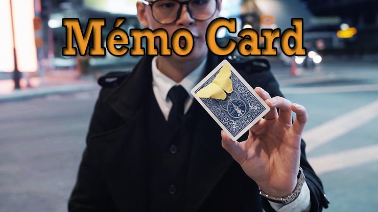 transformation en papillon du tour Memo Card de Sultan Orazaly et feat Zach Ng