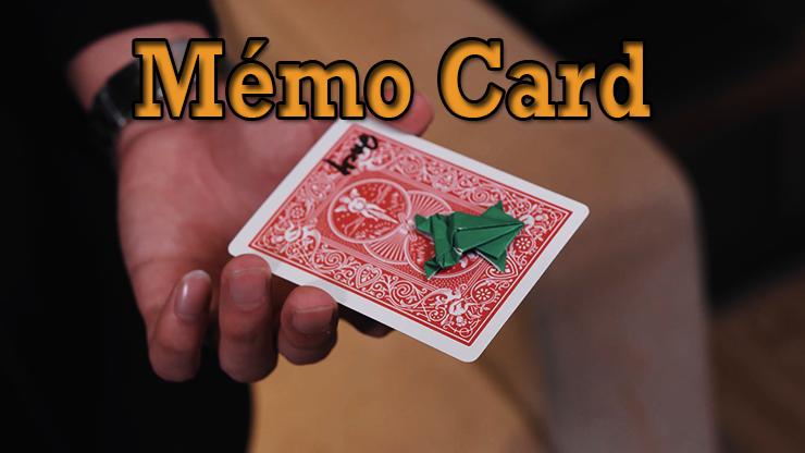 transformation en grenouille du tour Memo Card de Sultan Orazaly et feat Zach Ng