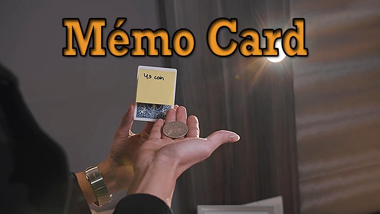 transformation en pièce du tour Memo Card de Sultan Orazaly et feat Zach Ng