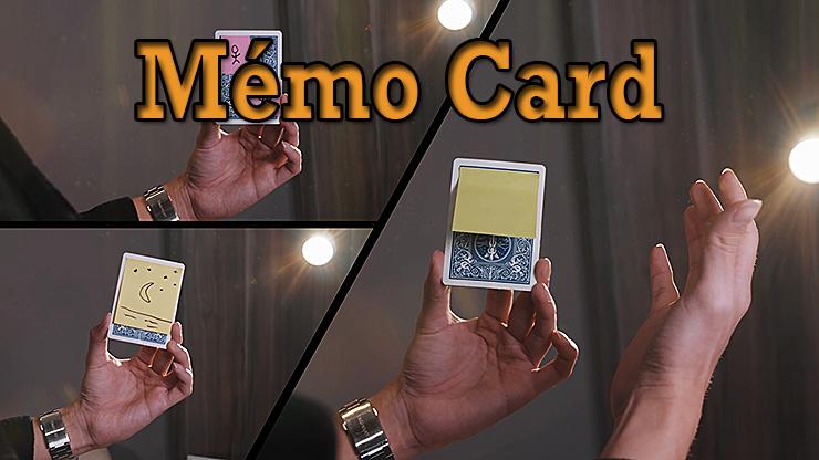 voici 3 possibilités de change du tour Memo Card de Sultan Orazaly et feat Zach Ng