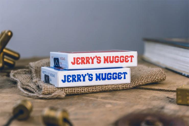 tranche des jeux modern feel bleu et rouge jerrys nuggets