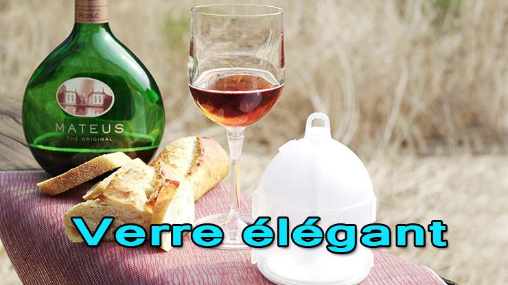 utilisation du verre dans des condition normal OUTDOOR WINE GLASS jl Magic