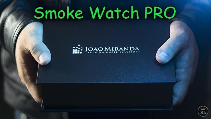 voici la boite présenté par joao miranda de Smoke Watch PRO