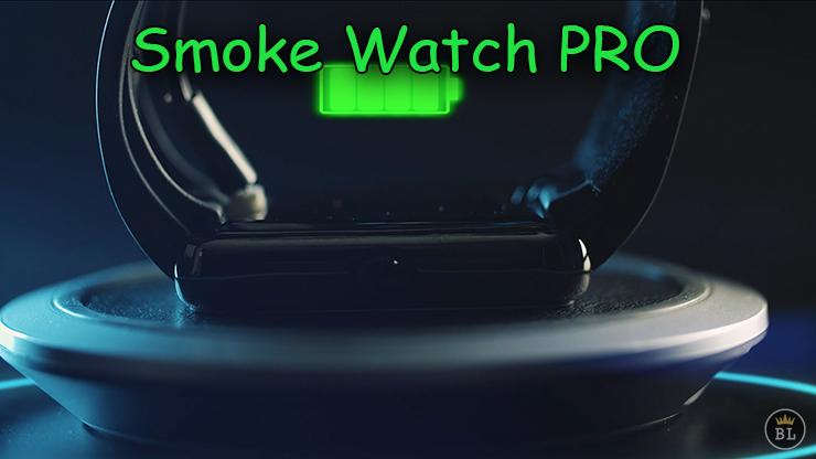 il y a un détecteur du niveau de la batterie de Smoke Watch PRO de João Miranda .