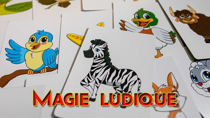 il y a un zebre un oiseau une Etoile un lapin un taureau du Two-Headed Prédiction - Christopher T. Magician