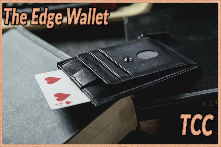 la carte rentre dans le gimmick du tour The edge Wallet Black de TCC