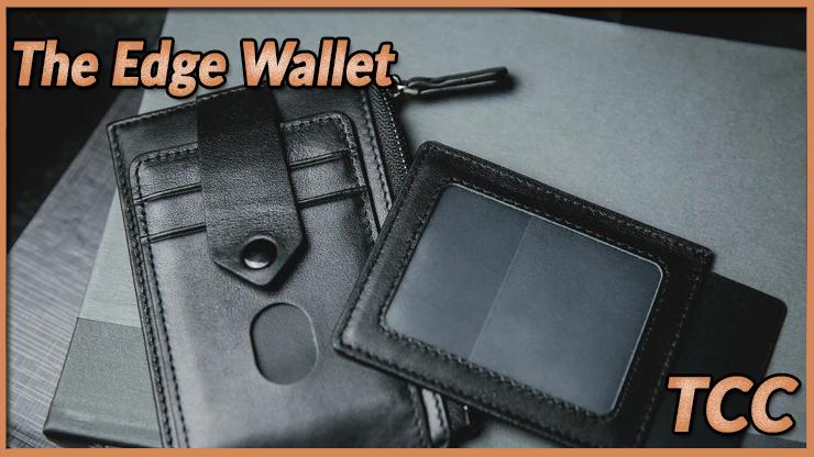 la carte peut apparaitre aussi dans un porte carte amovible de The edge Wallet Black de TCC