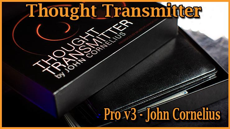 voici la boite que vous recevrez avec le tour Portefeuille Thought Transmitter Pro v3 De John Cornelius