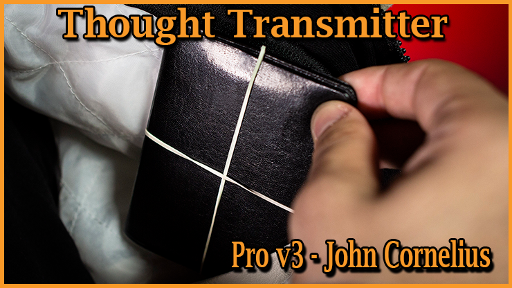 le portefeuille comporte des élastiques du tour Thought Transmitter Pro v3 De John Cornelius