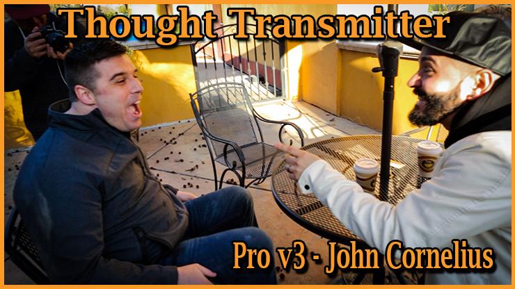 réaction du public devant ce tour incroyable Portefeuille Thought Transmitter Pro v3 De John Cornelius