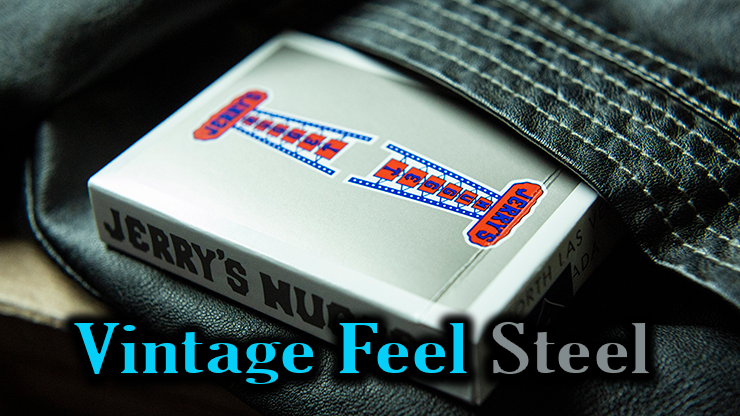jeu Vintage Feel Jerrys Nuggets Steel argent qui sort de la poche