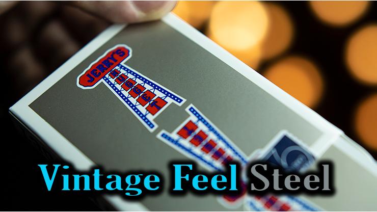 gros plan de l'étui Vintage Feel Jerrys Nuggets Steel argent