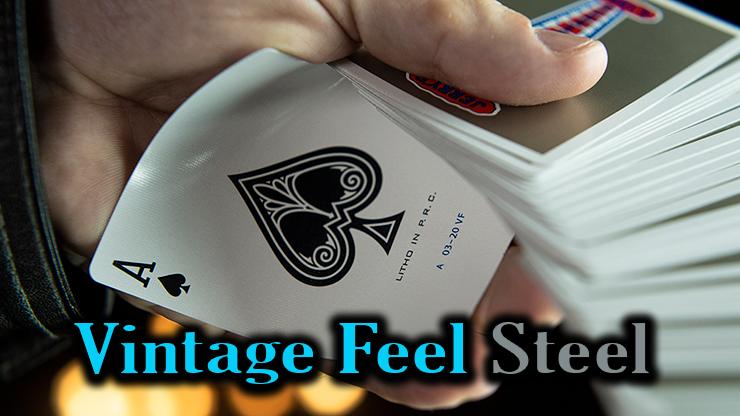 as de pique du jeu Vintage Feel Jerrys Nuggets Steel argent