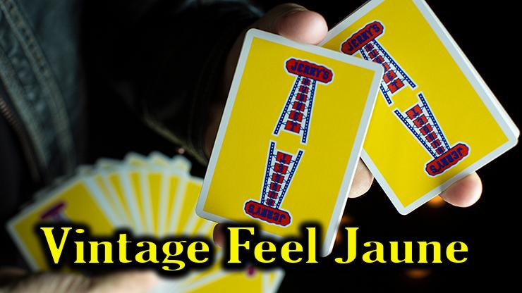 gors plan sur le dos des cartes Vintage Feel Jerrys Nuggets Yellow