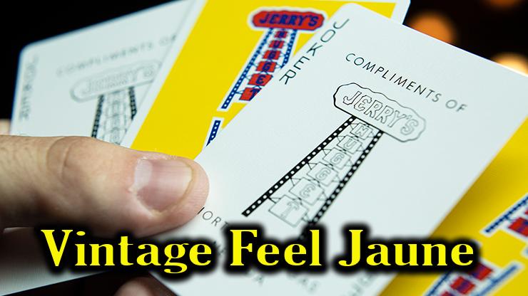 un dos et un joker du jeu Vintage Feel Jerrys Nuggets Yellow