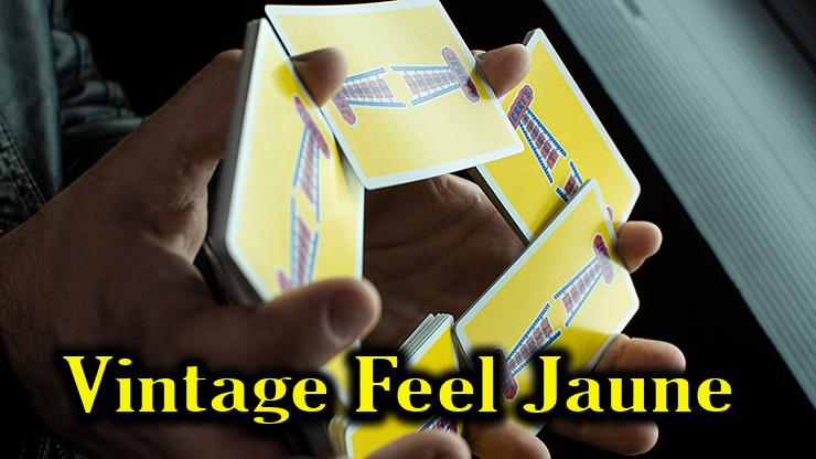 cardistry avec le jeu Vintage Feel Jerrys Nuggets Yellow