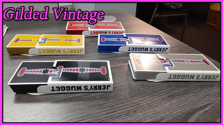 voici les 4 jeux Vintage Feel Jerry's Nuggets Gilded