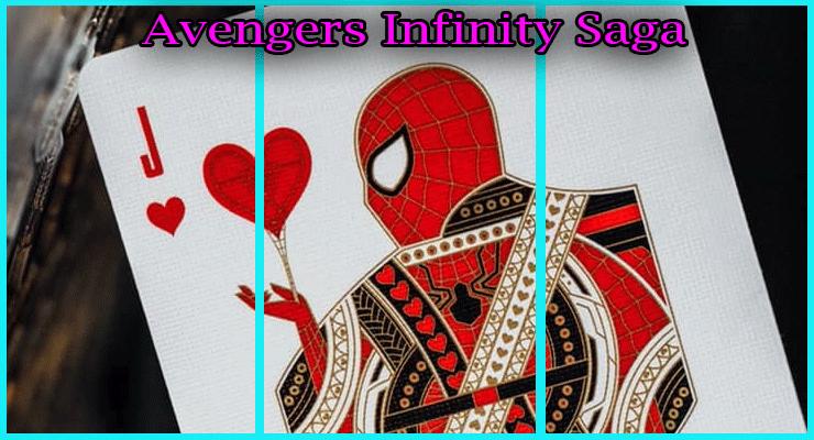 voici le magnifique spider man de la série Jeu De Cartes Avengers - Infinity Saga