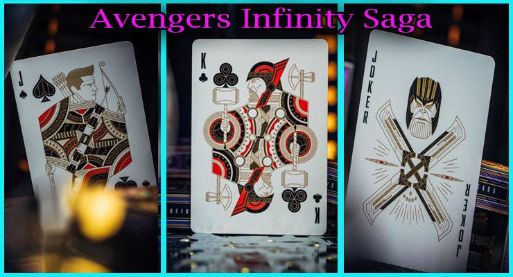 3 nouvelles carte avec le joker du Jeu De Cartes Avengers - Infinity Saga